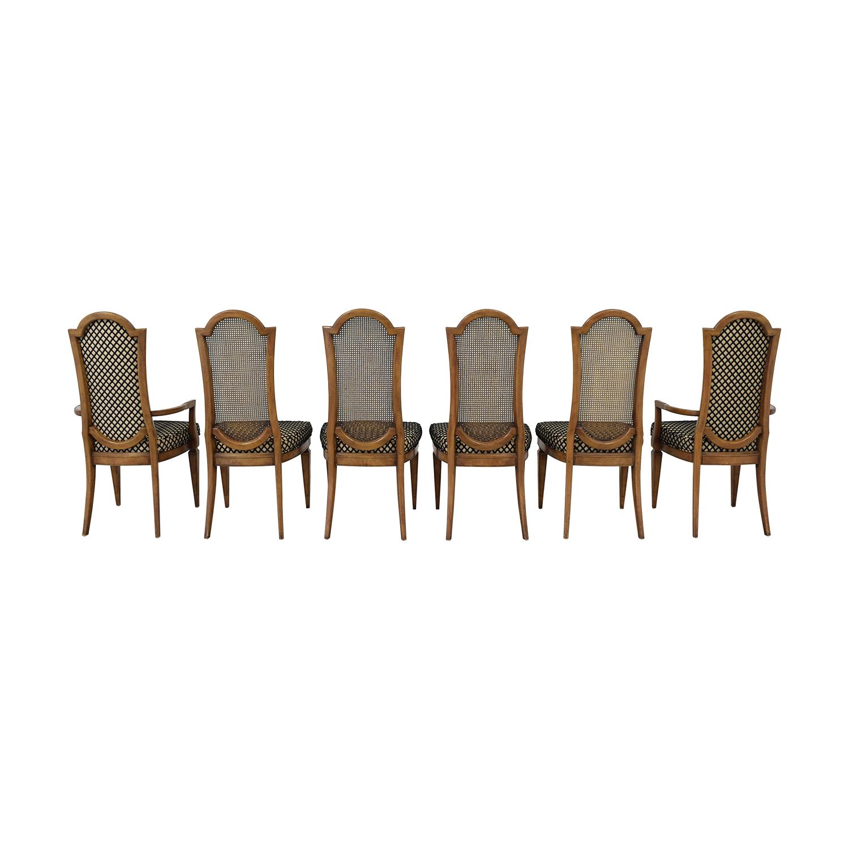 buy Mastercraft Furniture Patterned Dining Chairs Mastercraft Furniture Chairs