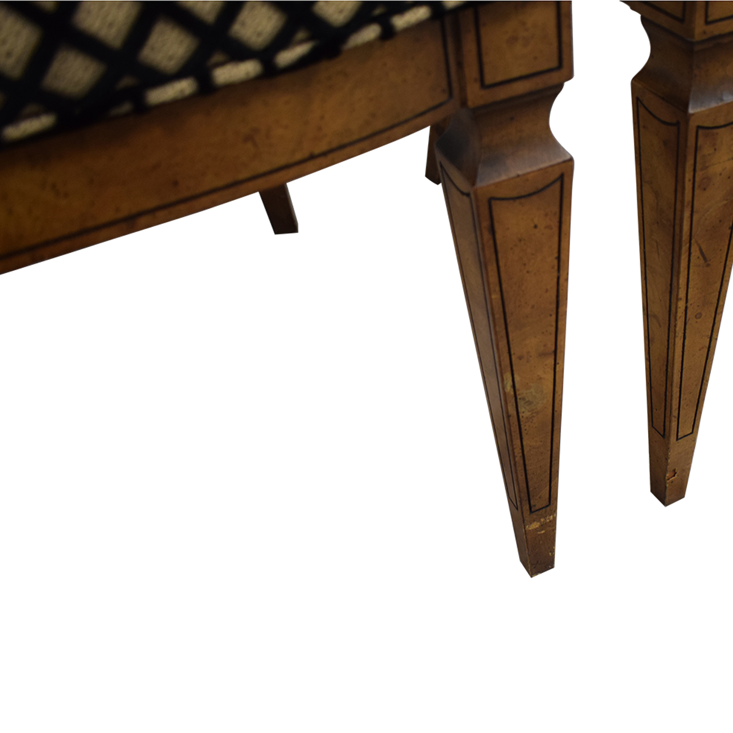 Mastercraft Furniture Patterned Dining Chairs / Chairs