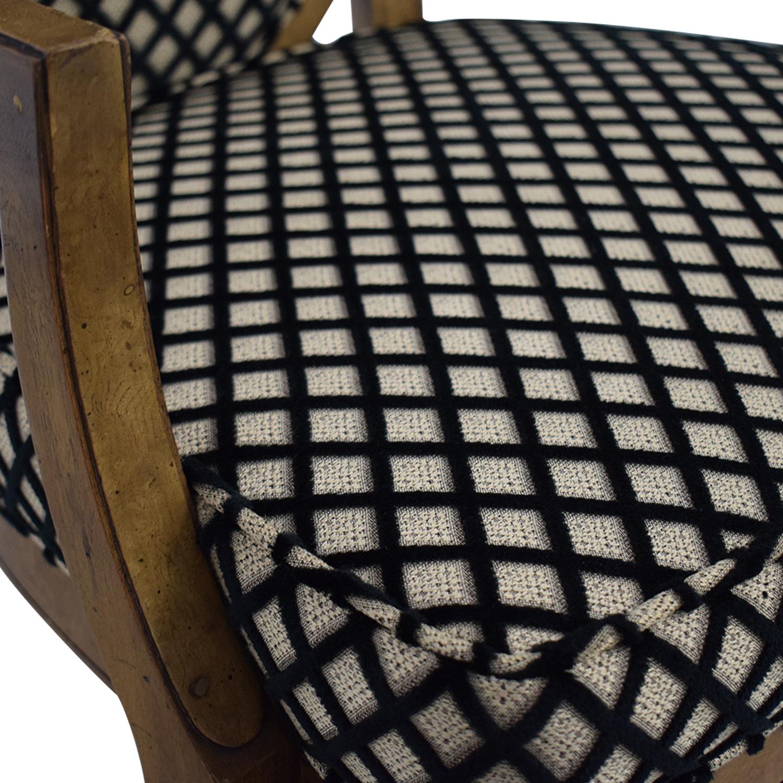 shop Mastercraft Furniture Mastercraft Furniture Patterned Dining Chairs online