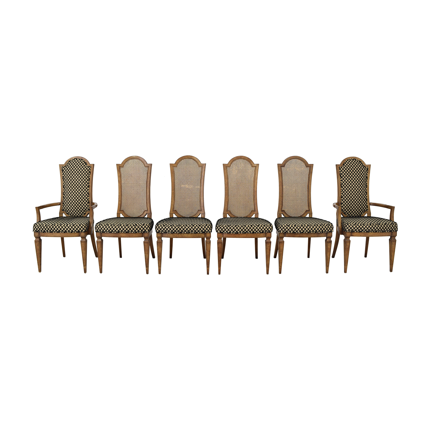 buy Mastercraft Furniture Patterned Dining Chairs Mastercraft Furniture