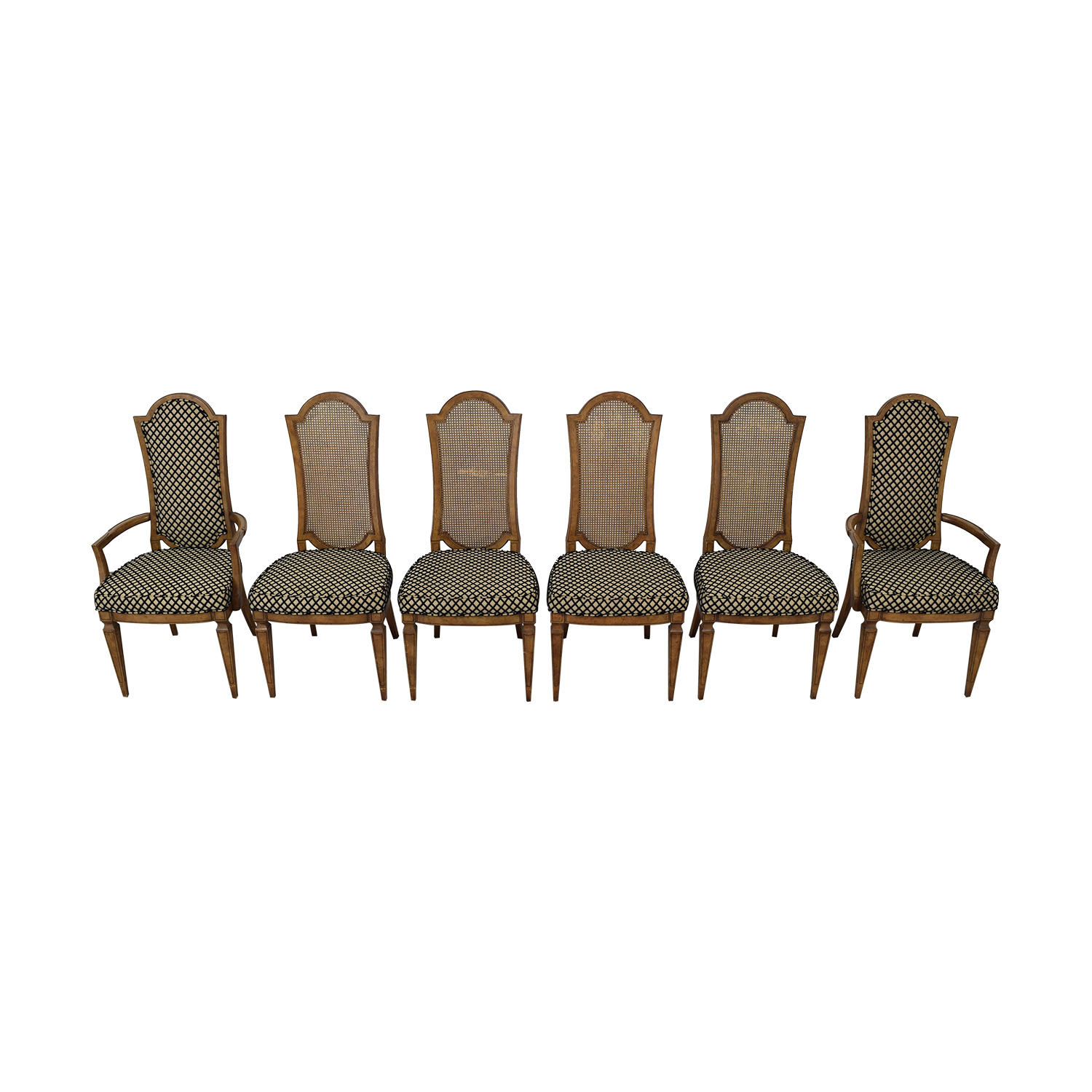 Mastercraft Furniture Mastercraft Furniture Patterned Dining Chairs price