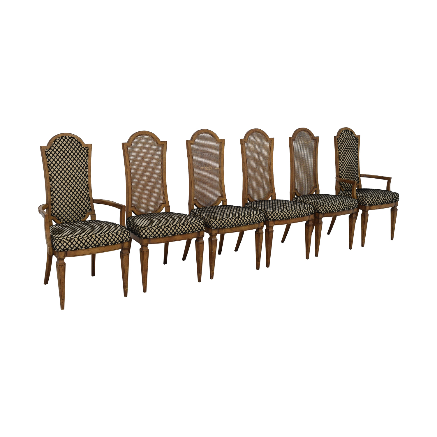 Mastercraft Furniture Mastercraft Furniture Patterned Dining Chairs coupon