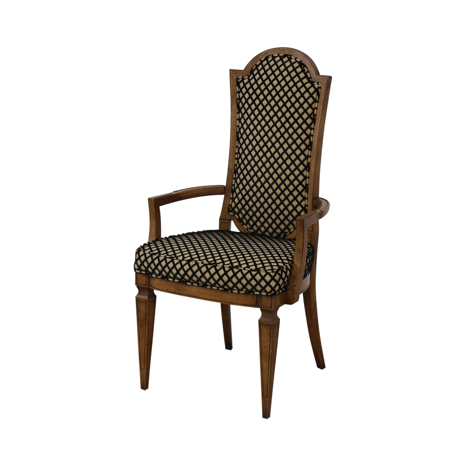 Mastercraft Furniture Patterned Dining Chairs / Dining Chairs