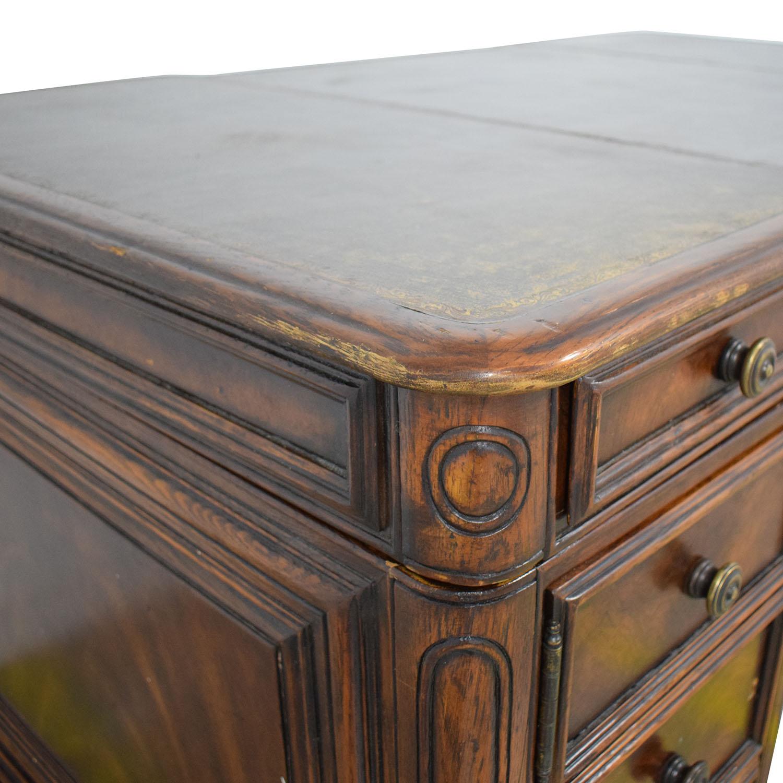 ABC Carpet & Home Multi Drawer Desk sale