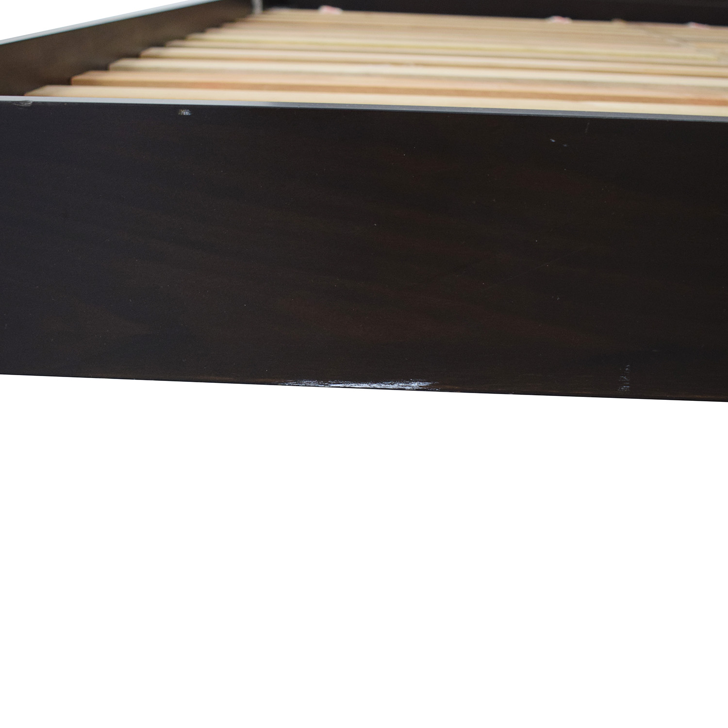 West Elm West Elm Low Wood Cutout Queen Bed used