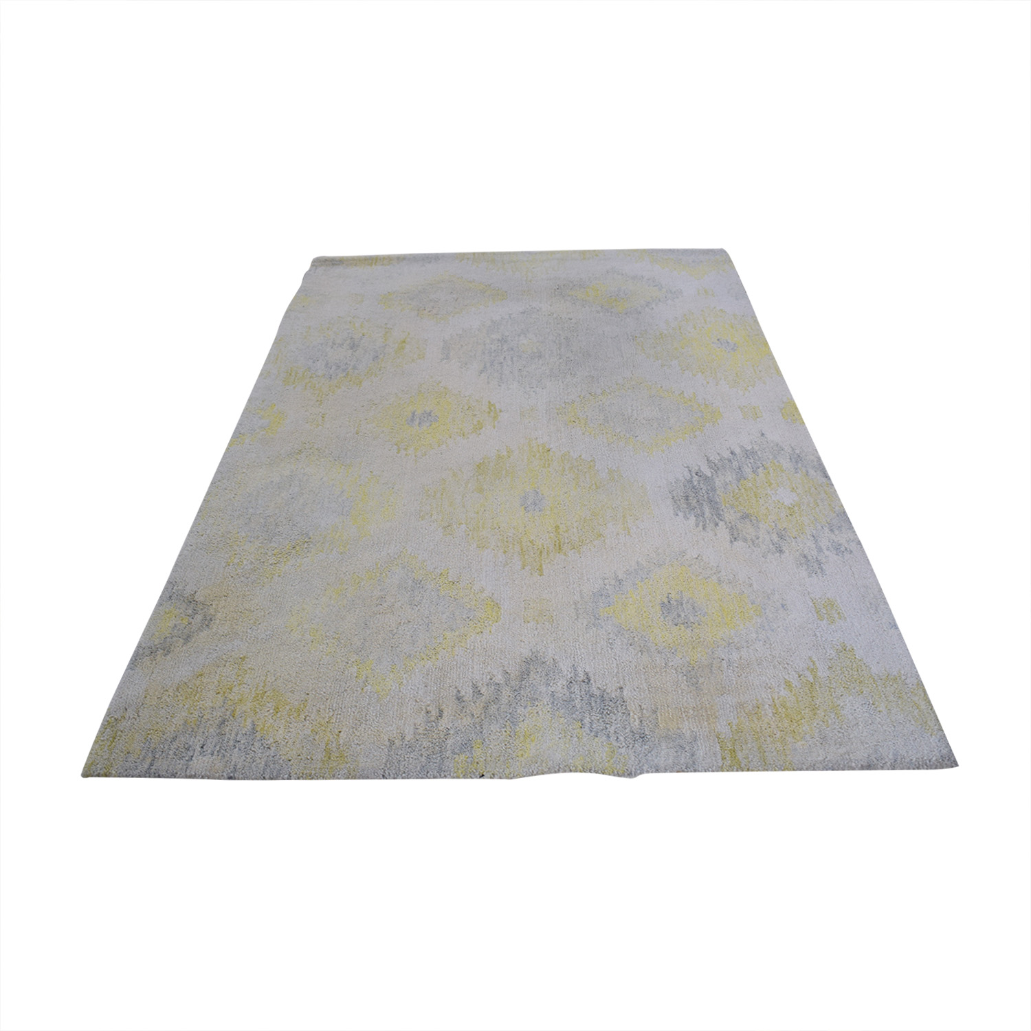 West Elm Blur Ikat Rug / Decor