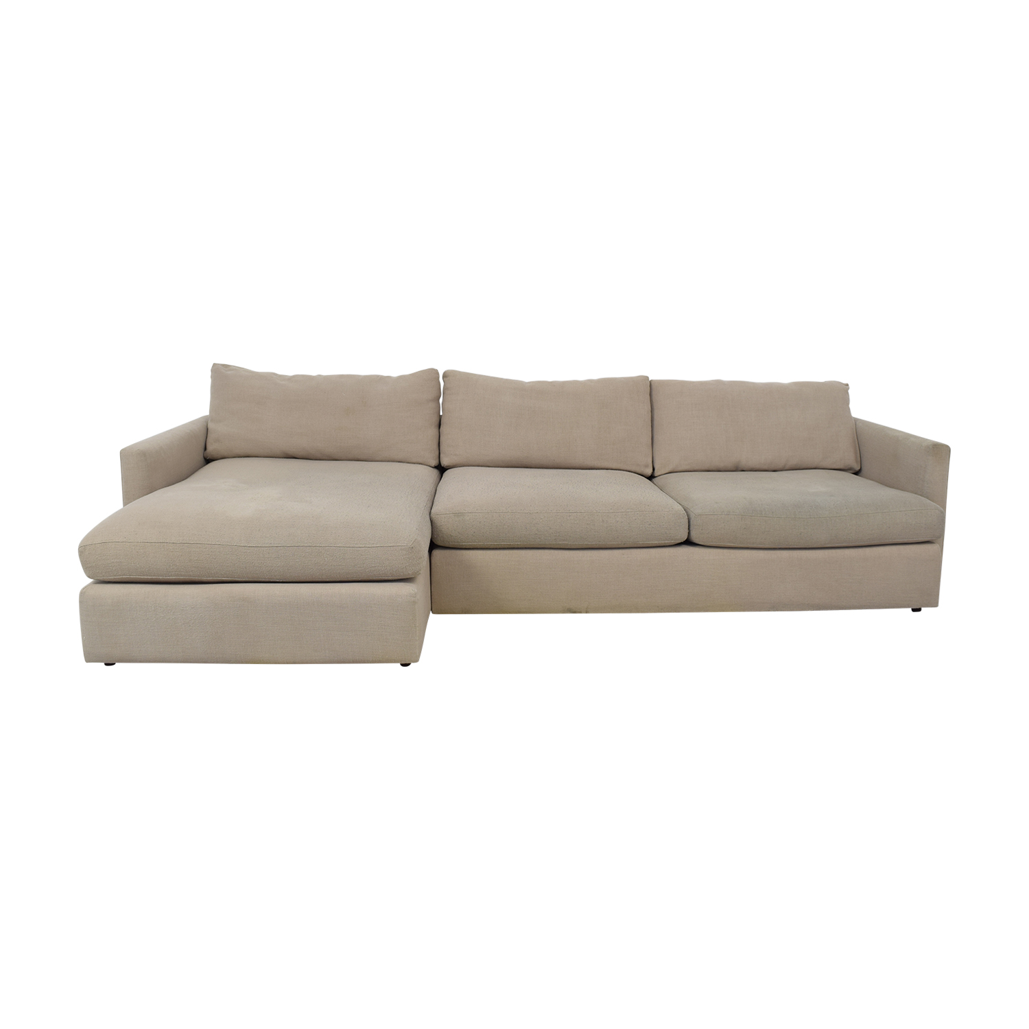 Crate & Barrel Crate & Barrel Axis II Chaise Sectional Sofa Sofas