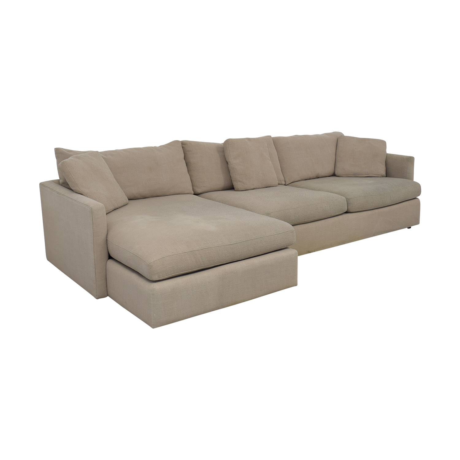 Crate & Barrel Crate & Barrel Axis II Chaise Sectional Sofa Sectionals