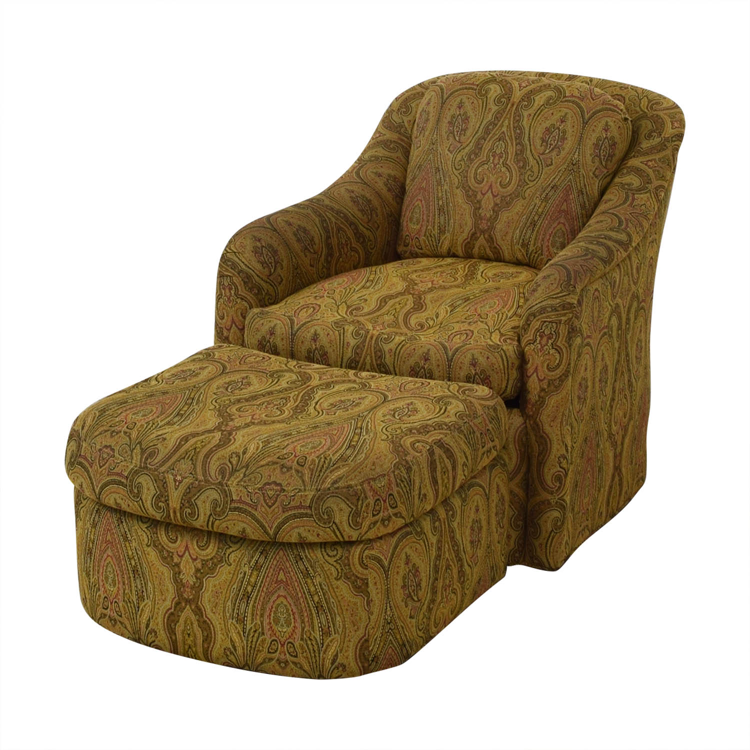 Swell 85 Off Pennsylvania House Pennsylvania House Swivel Chair And Ottoman Chairs Pabps2019 Chair Design Images Pabps2019Com