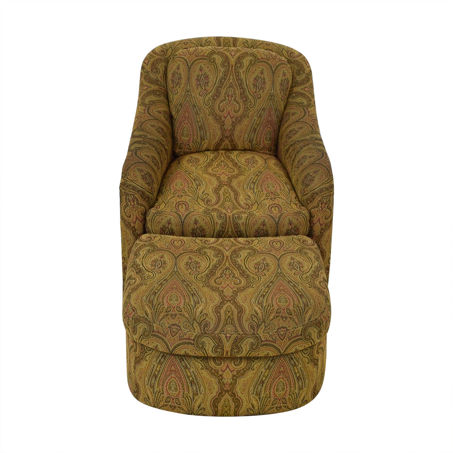 Admirable 85 Off Pennsylvania House Pennsylvania House Swivel Chair And Ottoman Chairs Pabps2019 Chair Design Images Pabps2019Com