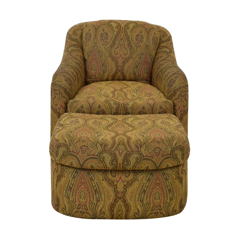 Wondrous 85 Off Pennsylvania House Pennsylvania House Swivel Chair And Ottoman Chairs Short Links Chair Design For Home Short Linksinfo