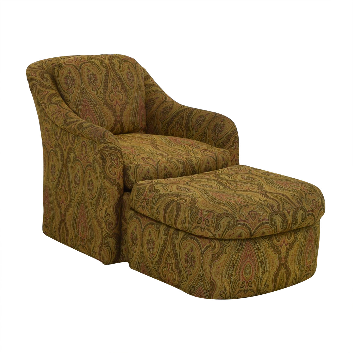 Marvelous 85 Off Pennsylvania House Pennsylvania House Swivel Chair And Ottoman Chairs Pabps2019 Chair Design Images Pabps2019Com