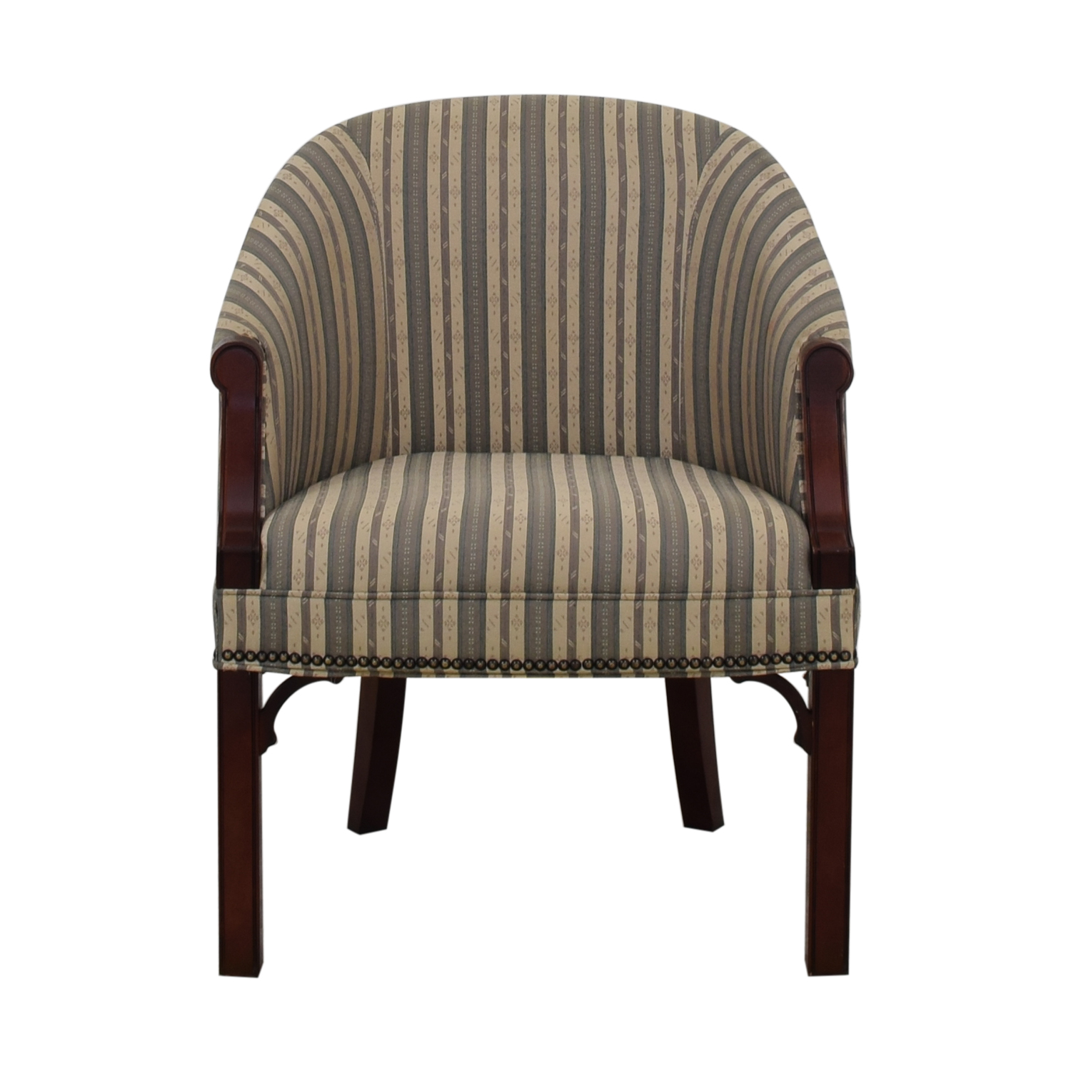 buy Kimball Independence Newcastle Striped Chair Kimball Accent Chairs