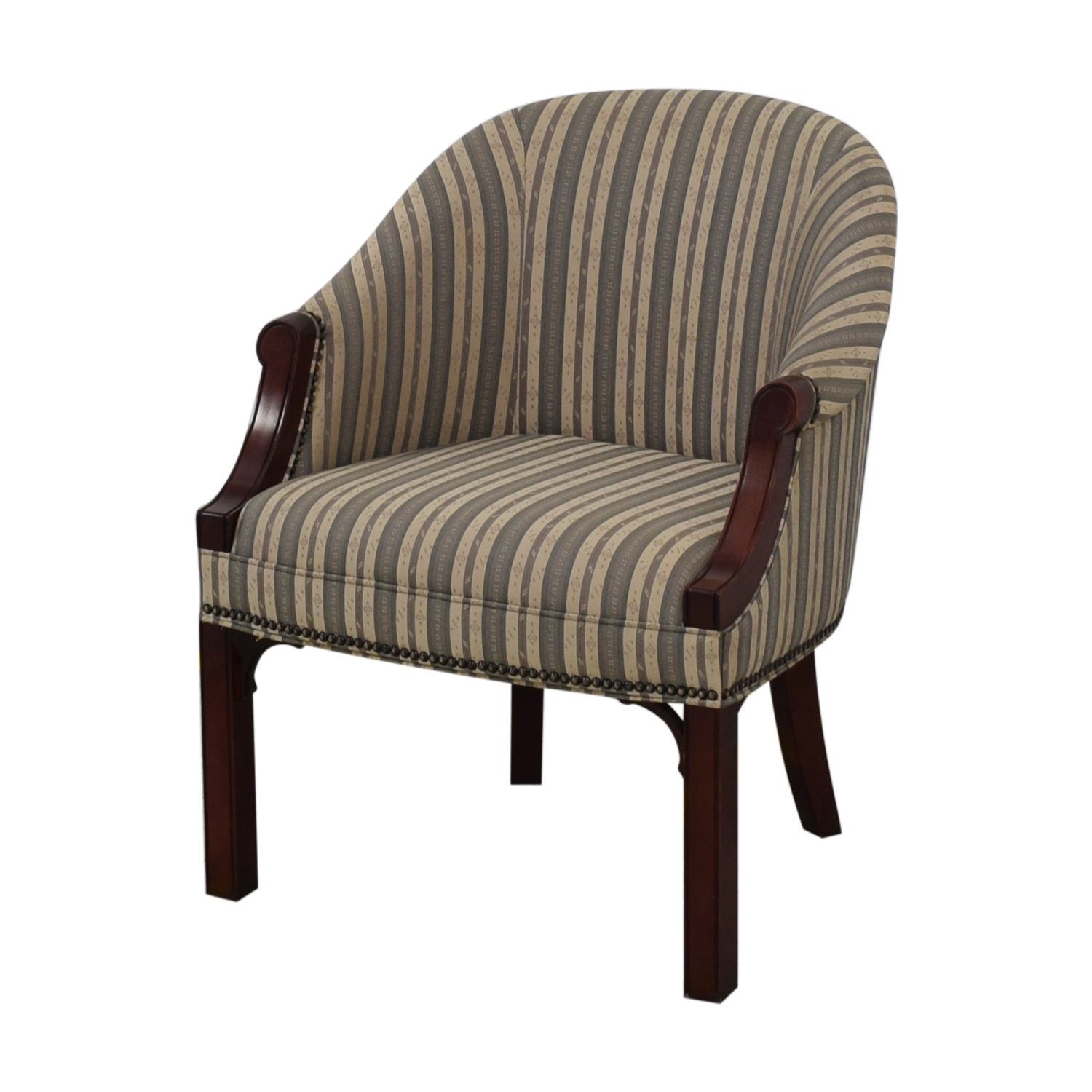 Kimball Independence Newcastle Striped Chair / Chairs