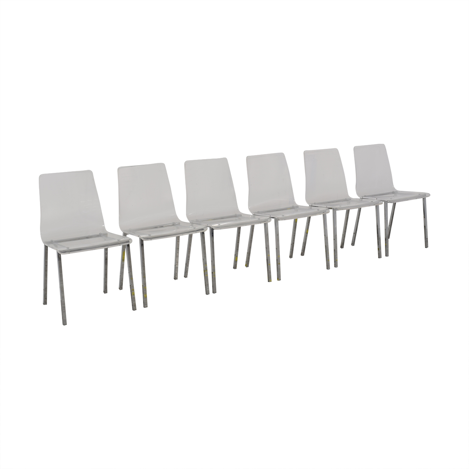 buy CB2 Acrylic Vapor Dining Chairs CB2 Dining Chairs