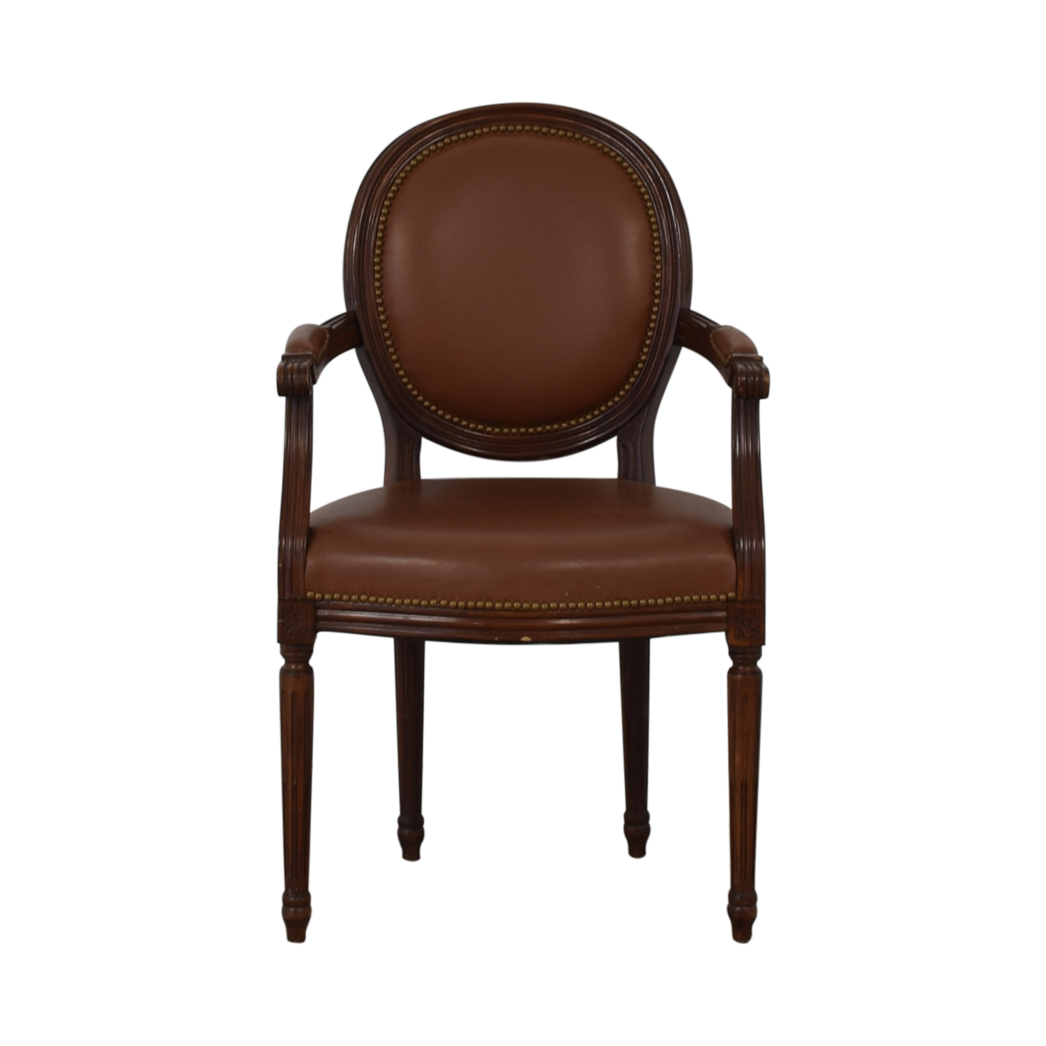 Leather Arm Chair discount