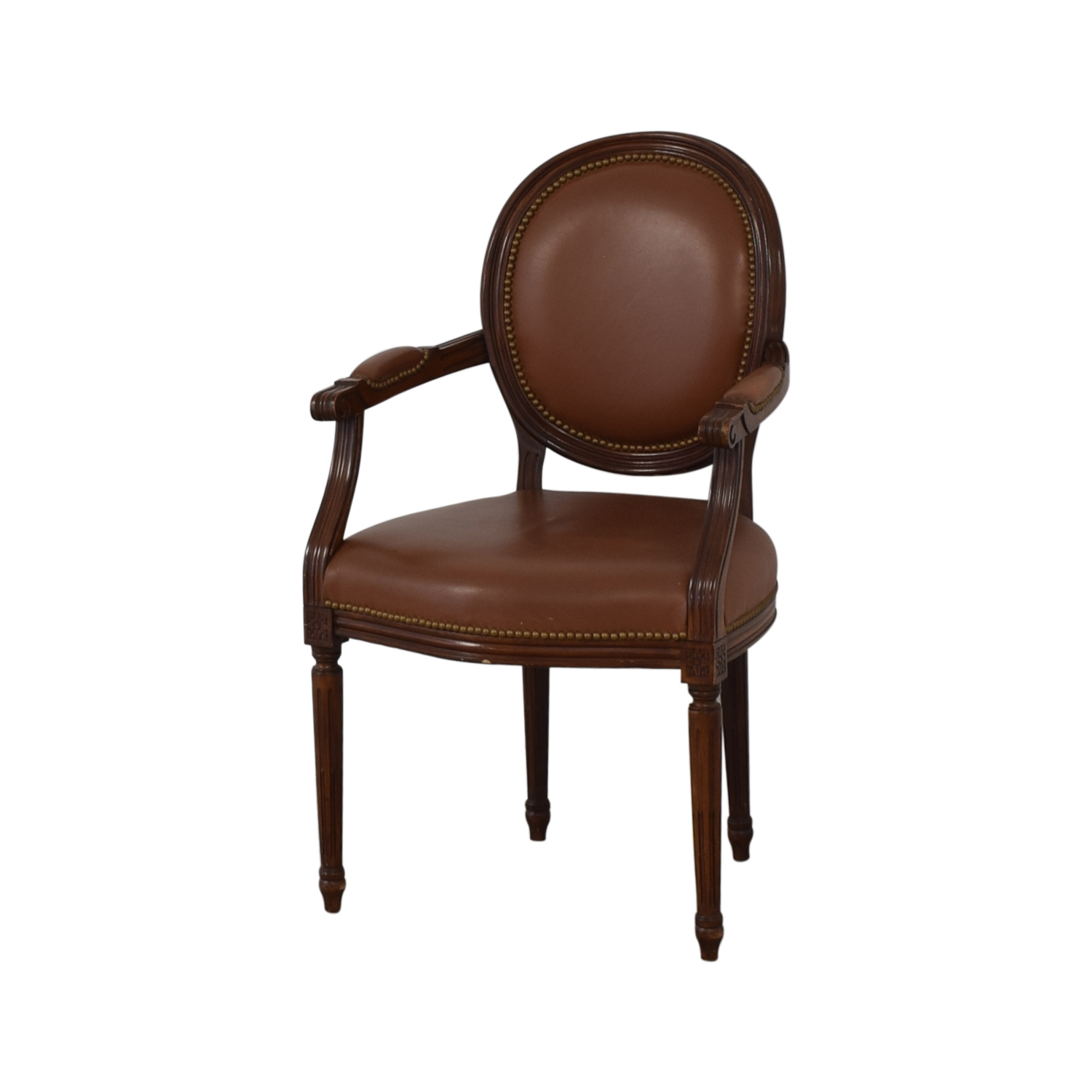 Leather Arm Chair second hand