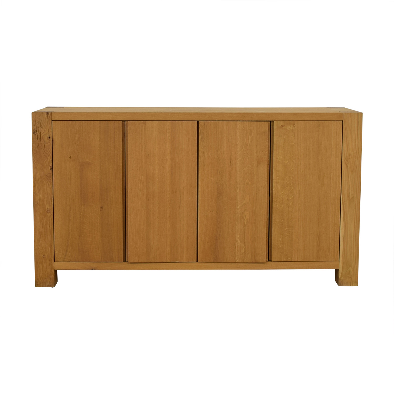 Crate & Barrel Crate & Barrel Big Sur Sideboard light brown