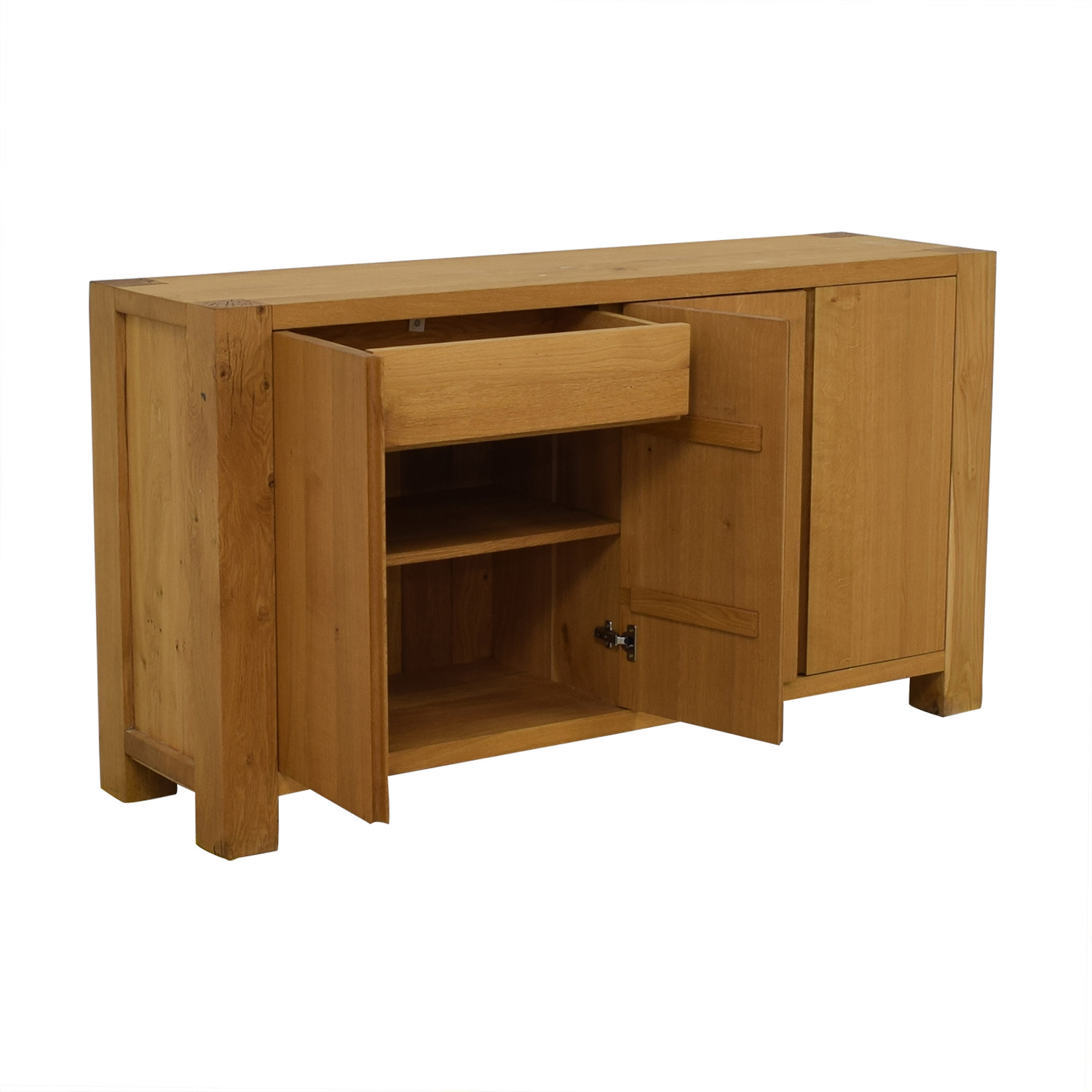 shop Crate & Barrel Big Sur Sideboard Crate & Barrel Cabinets & Sideboards