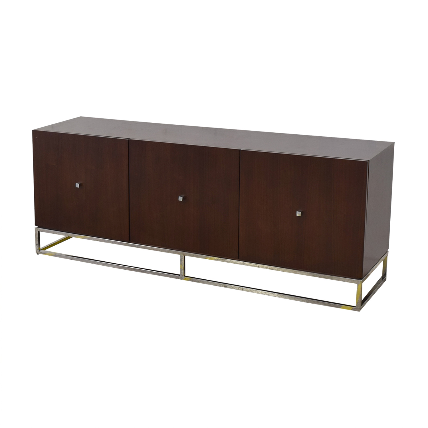 Mitchell Gold + Bob Williams Three Cabinet Media Console Cabinets & Sideboards