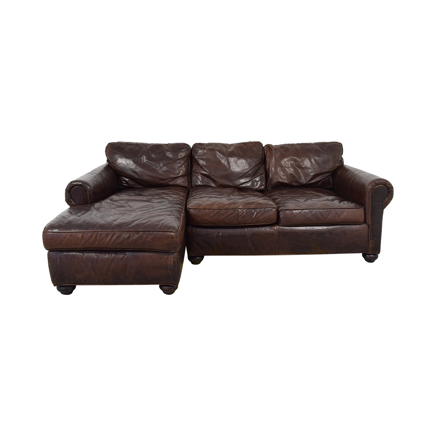 shop Restoration Hardware Original Lancaster Left Arm Sectional Restoration Hardware