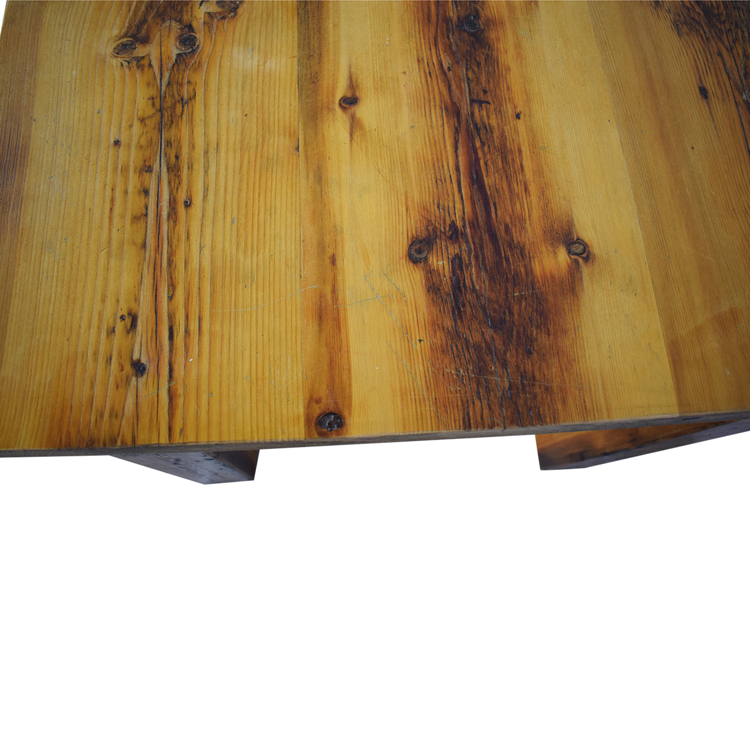 shop Olde Good Things Rustic Square Leg Farm Table Olde Good Things Dinner Tables