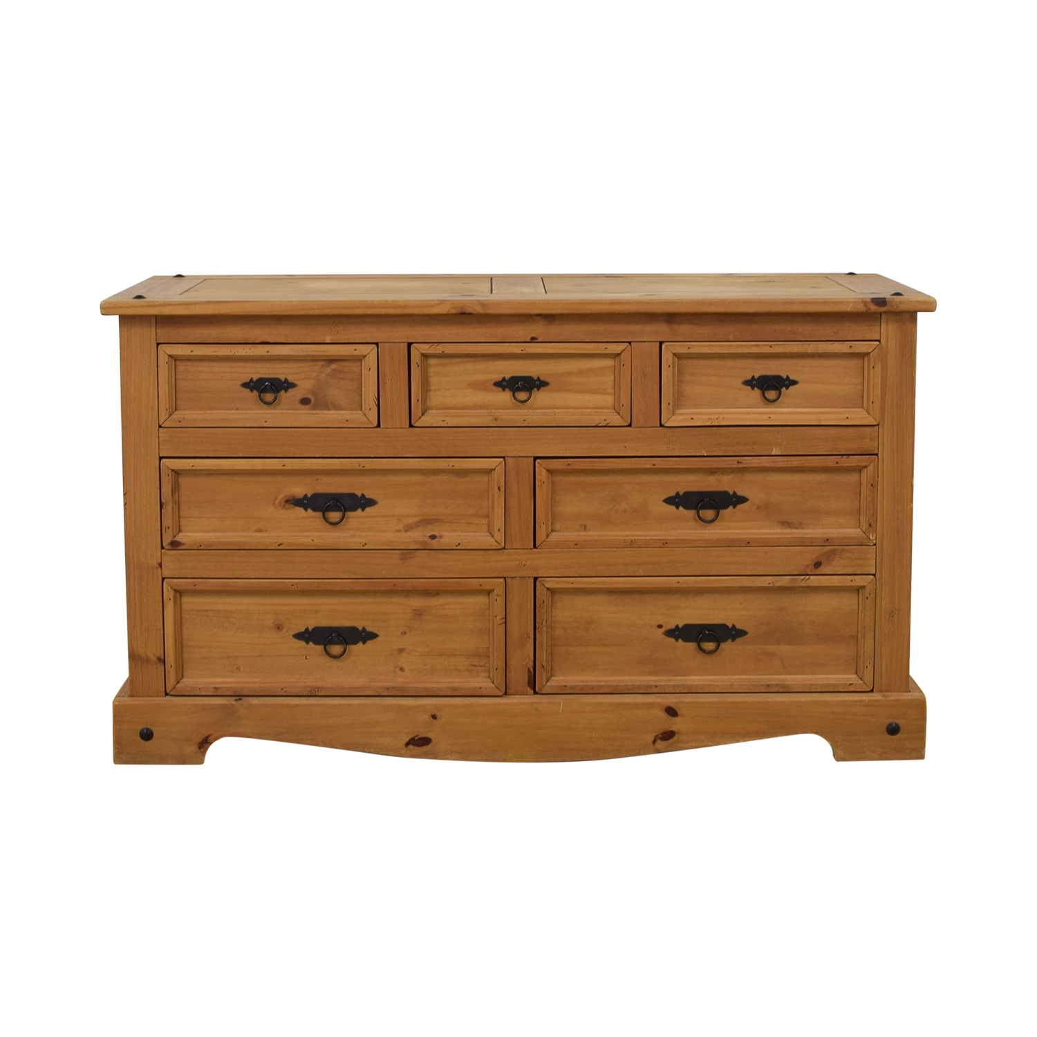 Pottery Barn Pottery Barn Seven Drawer Wide Dresser used