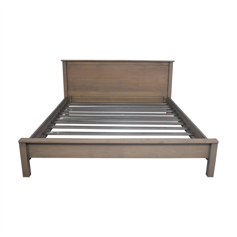 shop Room & Board Bennett California King Bed Room & Board Bed Frames