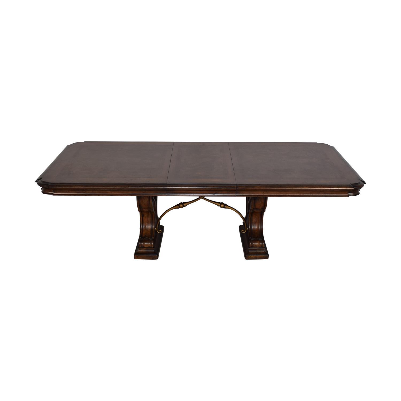 Thomasville Thomasville Bibbiano Trestle Dining Table discount