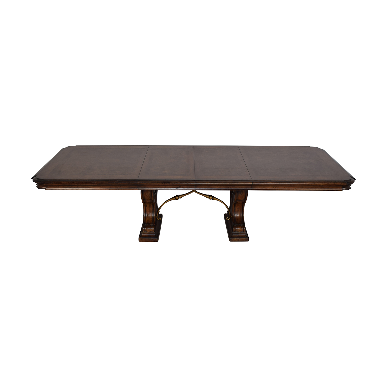 Thomasville Bibbiano Trestle Dining Table sale