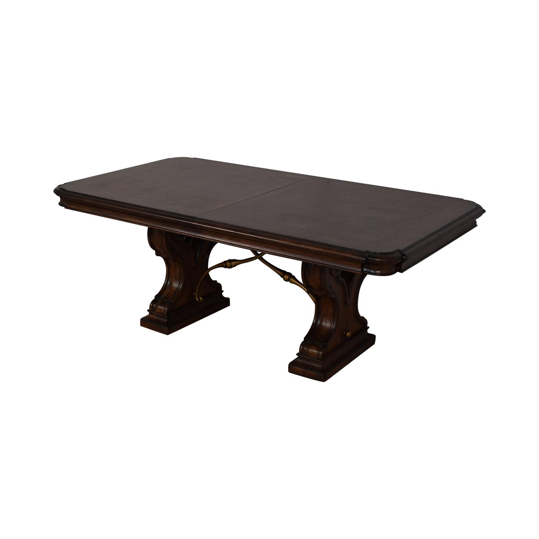 Thomasville Thomasville Bibbiano Trestle Dining Table Tables