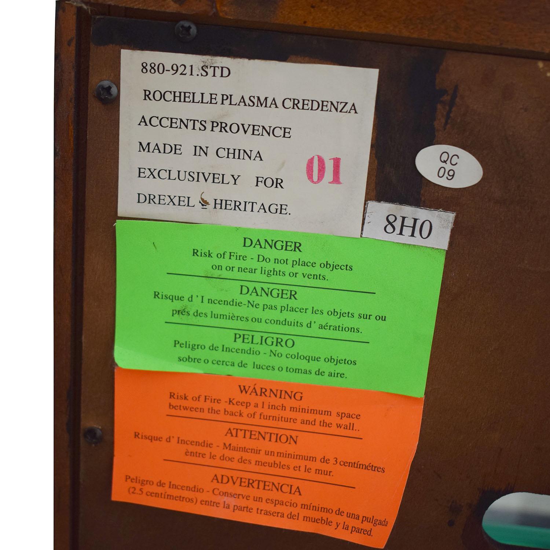 Drexel Heritage Drexel Heritage Rochelle Plasma Credenza Storage