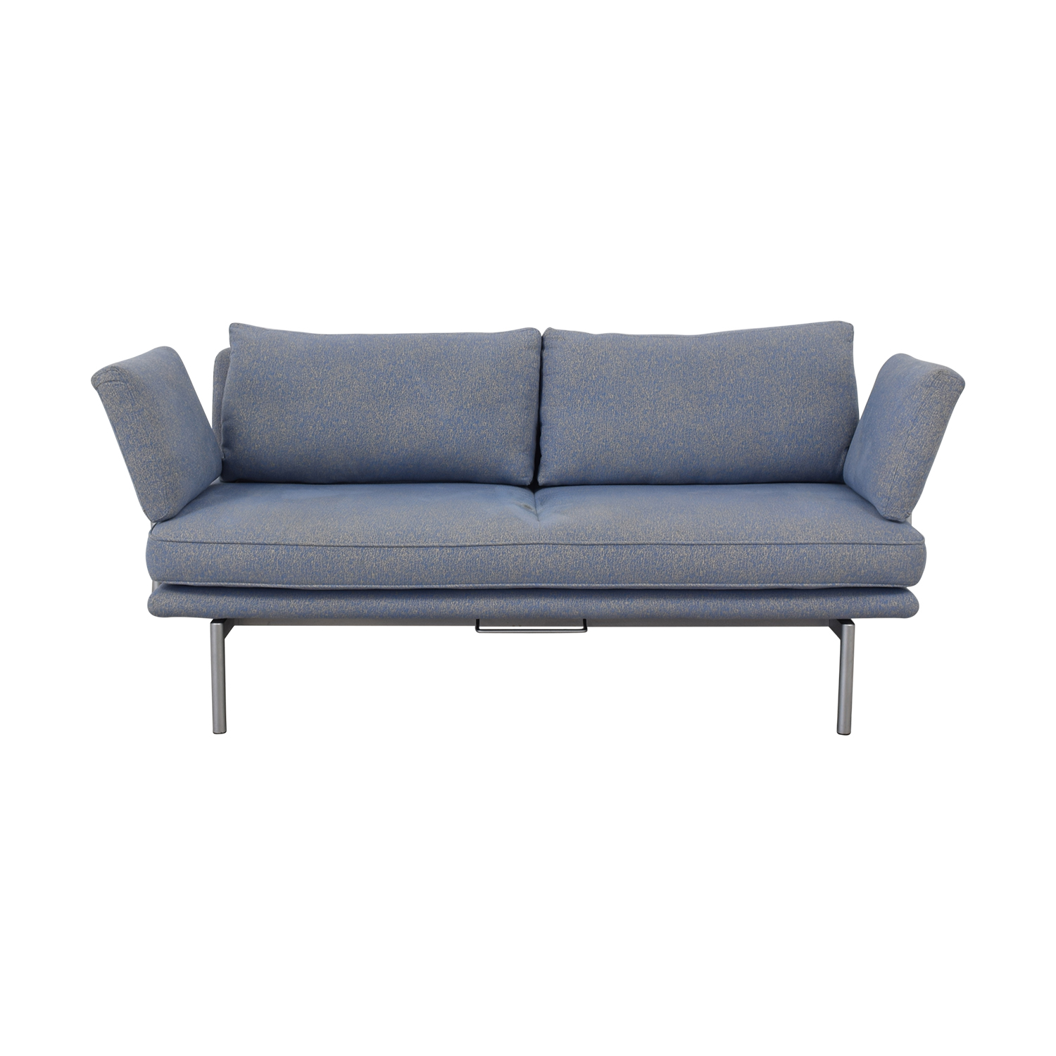 Contemporary Sofa with Adjustable Arms sale