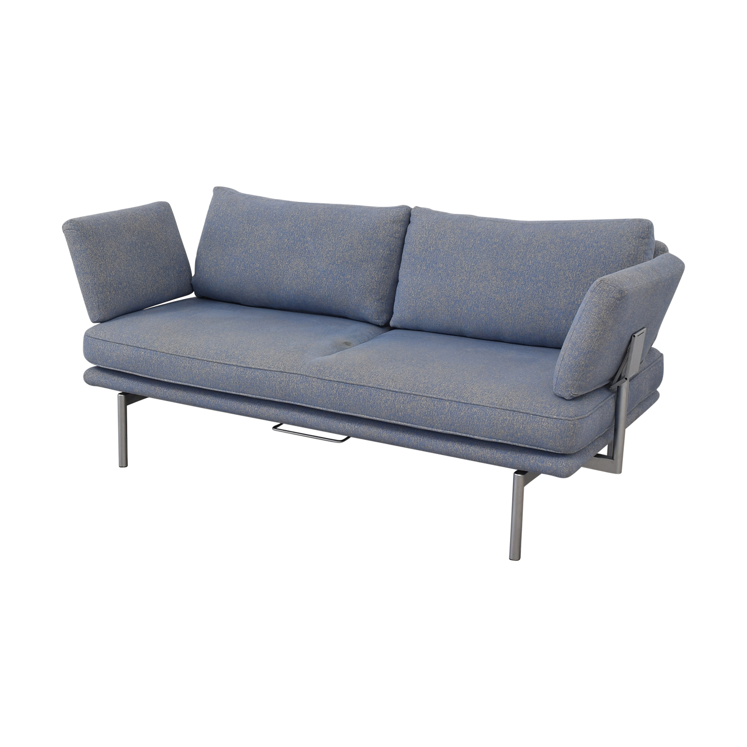 Contemporary Sofa with Adjustable Arms used