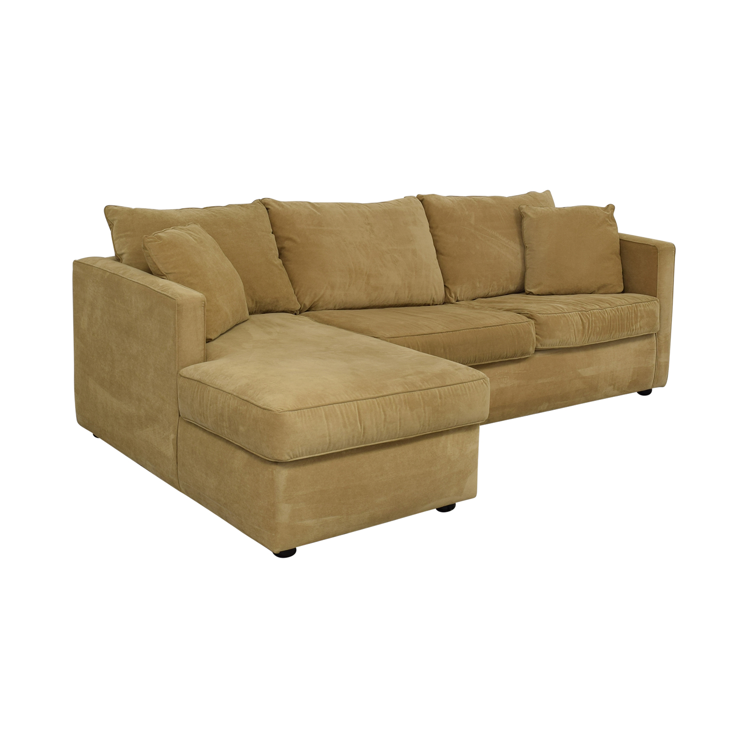 62% OFF - Klaussner Klaussner Chaise Sectional Sleeper Sofa / Sofas