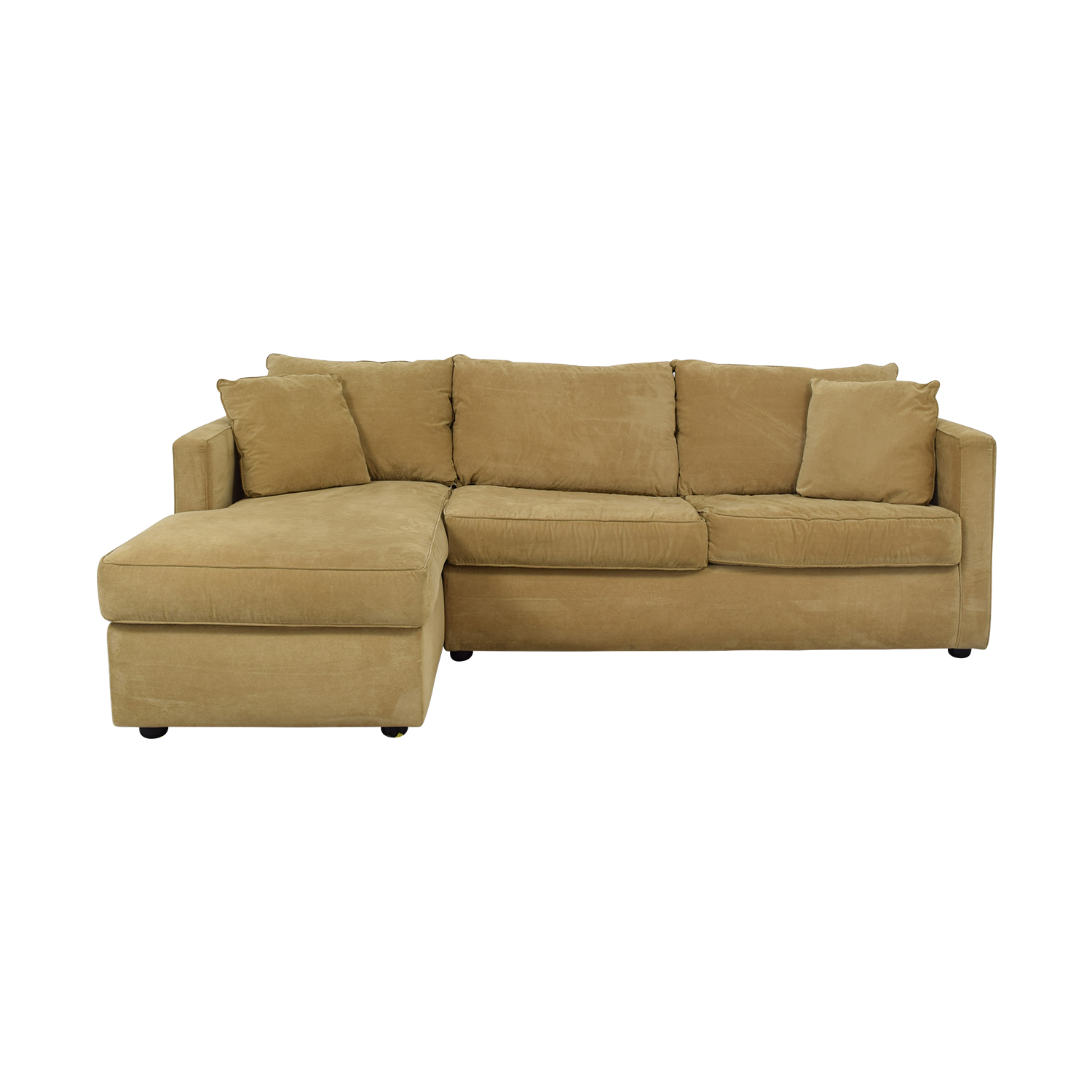 Klaussner Klaussner Chaise Sectional Sleeper Sofa dimensions