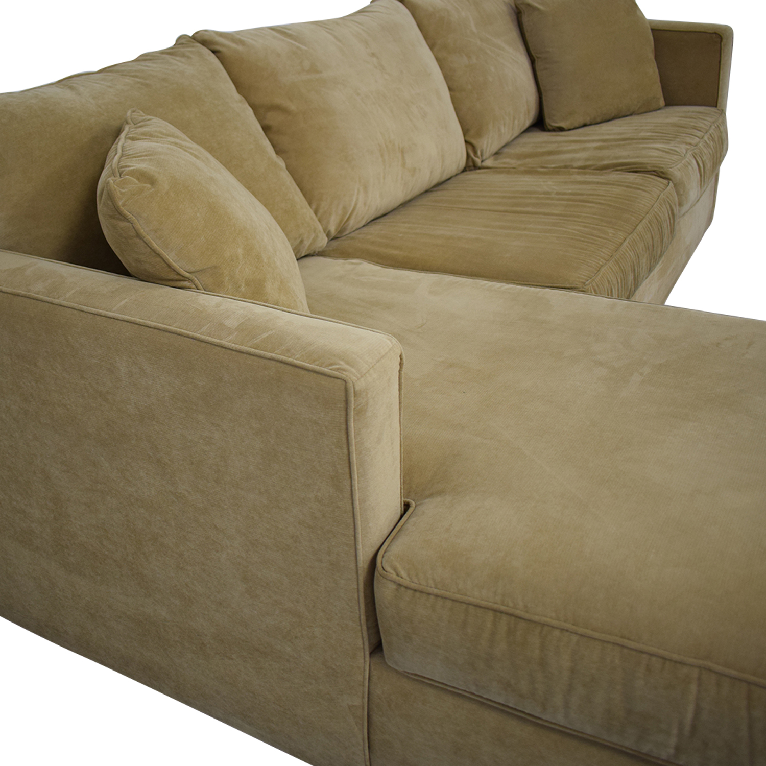 shop Klaussner Chaise Sectional Sleeper Sofa Klaussner