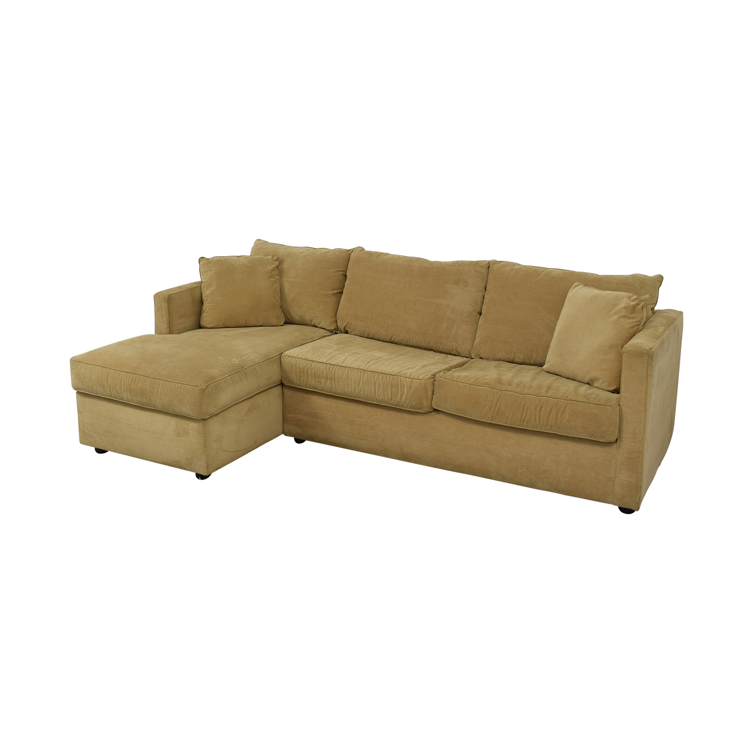 Klaussner Klaussner Chaise Sectional Sleeper Sofa discount
