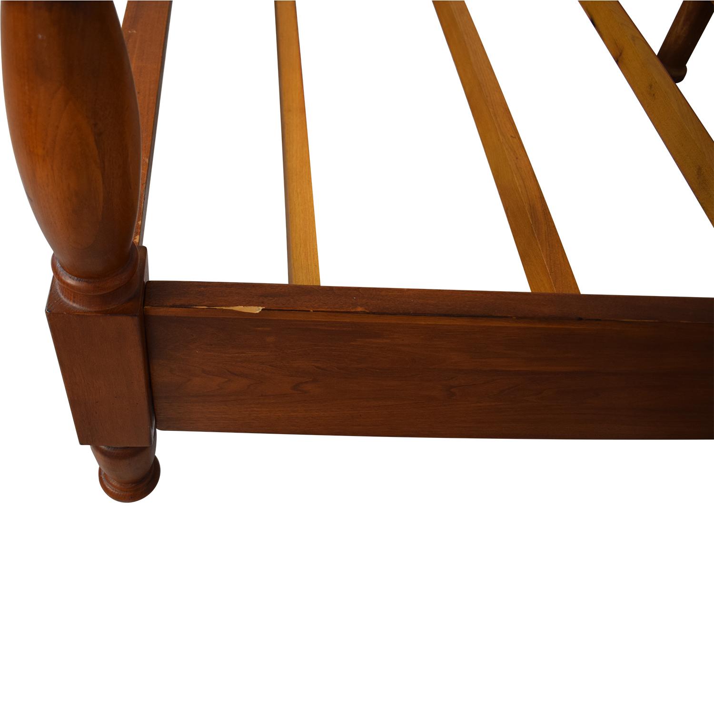 Bloomingdale's Bloomingdale's  Mahogany Queen Bed used