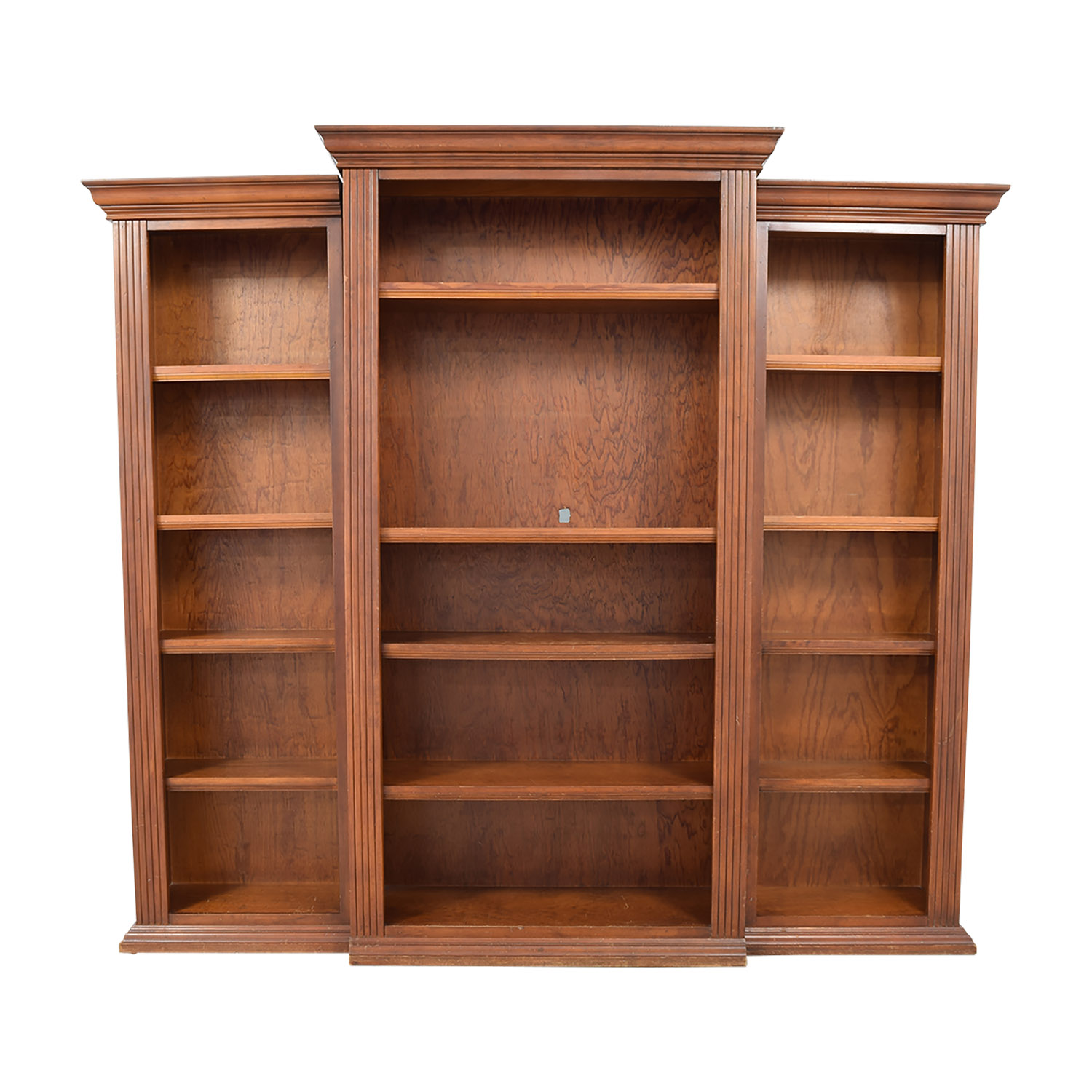 Three Piece Bookcase Storage