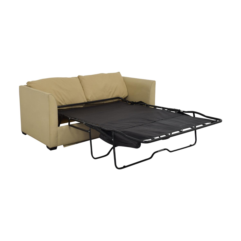 buy Room & Board Modern Full Sleeper Sofa Room & Board Sofas