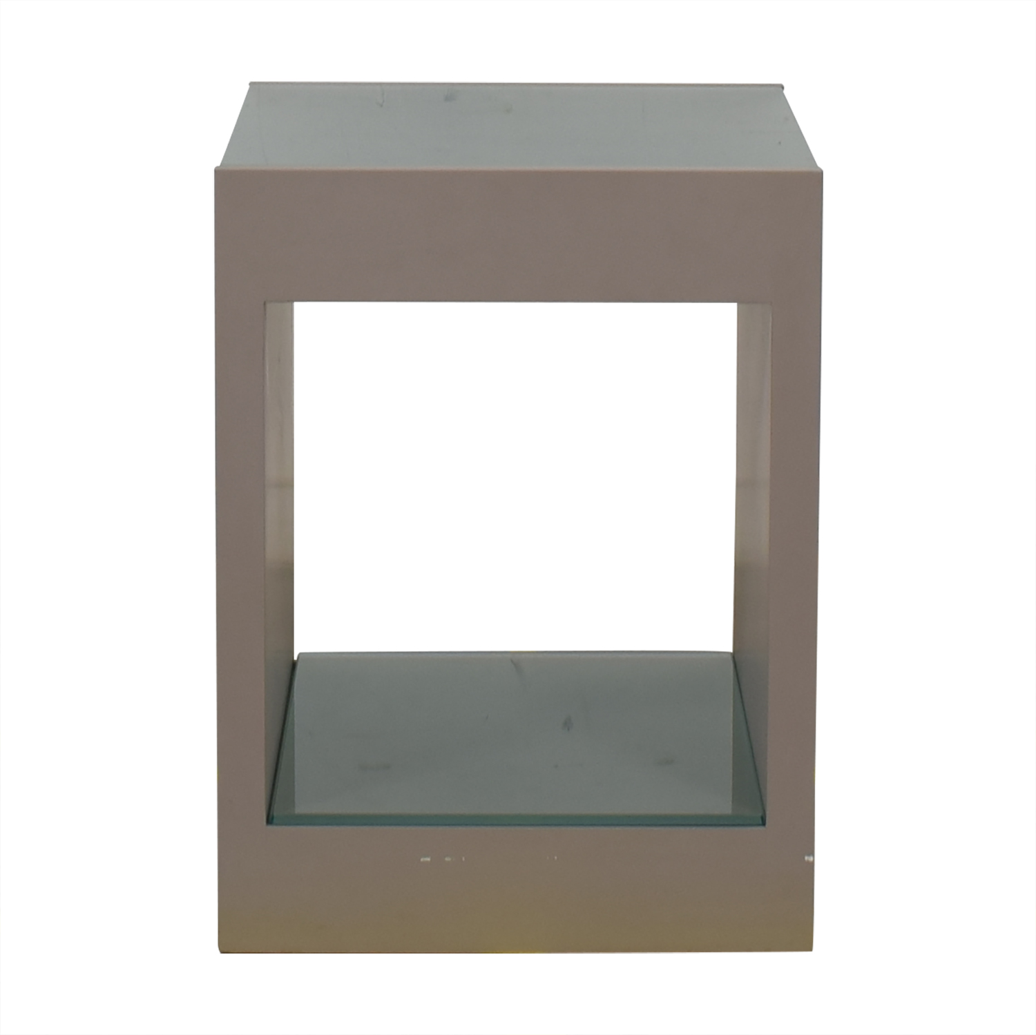 Custom Side Table grey