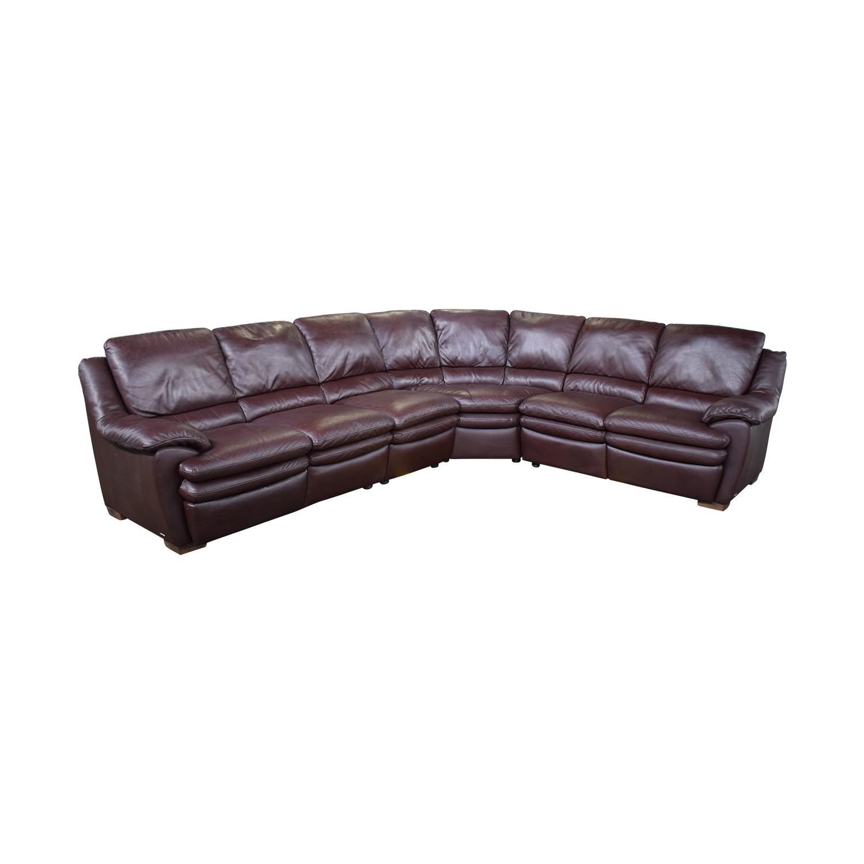 Natuzzi Natuzzi Reclining Sectional Sofa dimensions