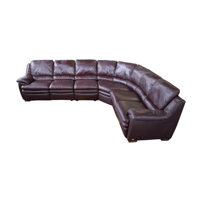 Natuzzi Natuzzi Reclining Sectional Sofa Sofas