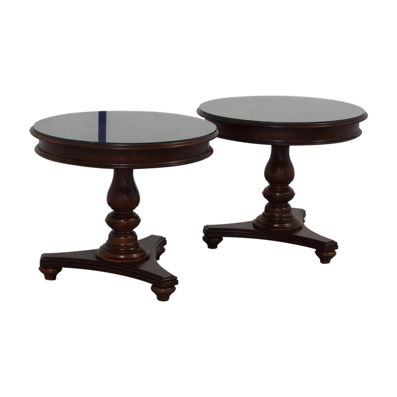 Thomasville Thomasville Chianti Round End Tables on sale