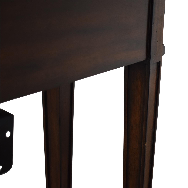 shop Maitland-Smith Narrow Leather Top Entry Table Maitland-Smith Tables