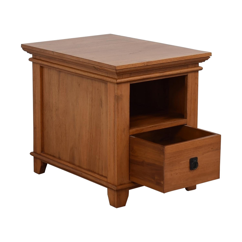 Crate & Barrel Crate & Barrel Solid Wood Bedside Table coupon