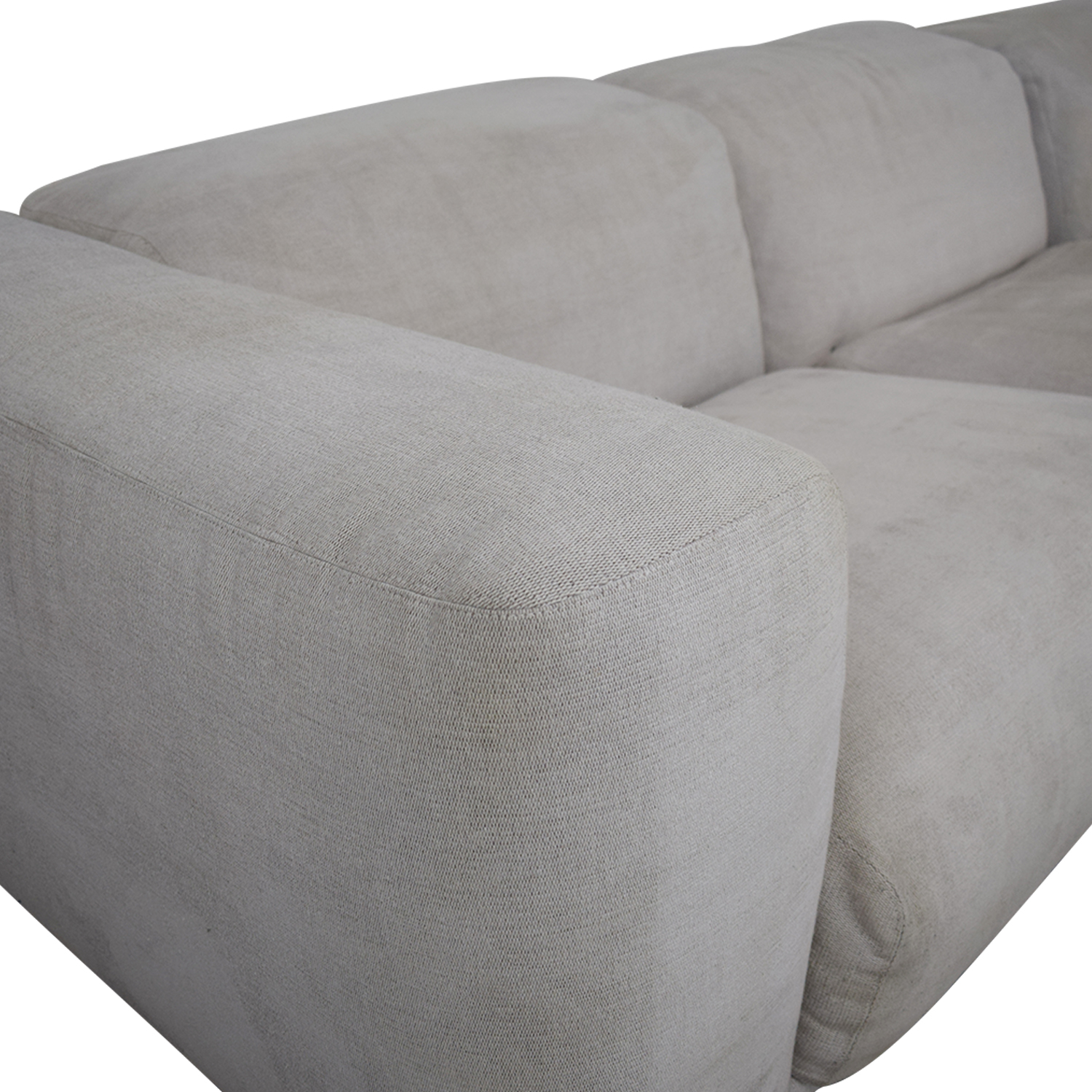 Design Within Reach Design Within Reach Kelston Sectional with Chaise dimensions