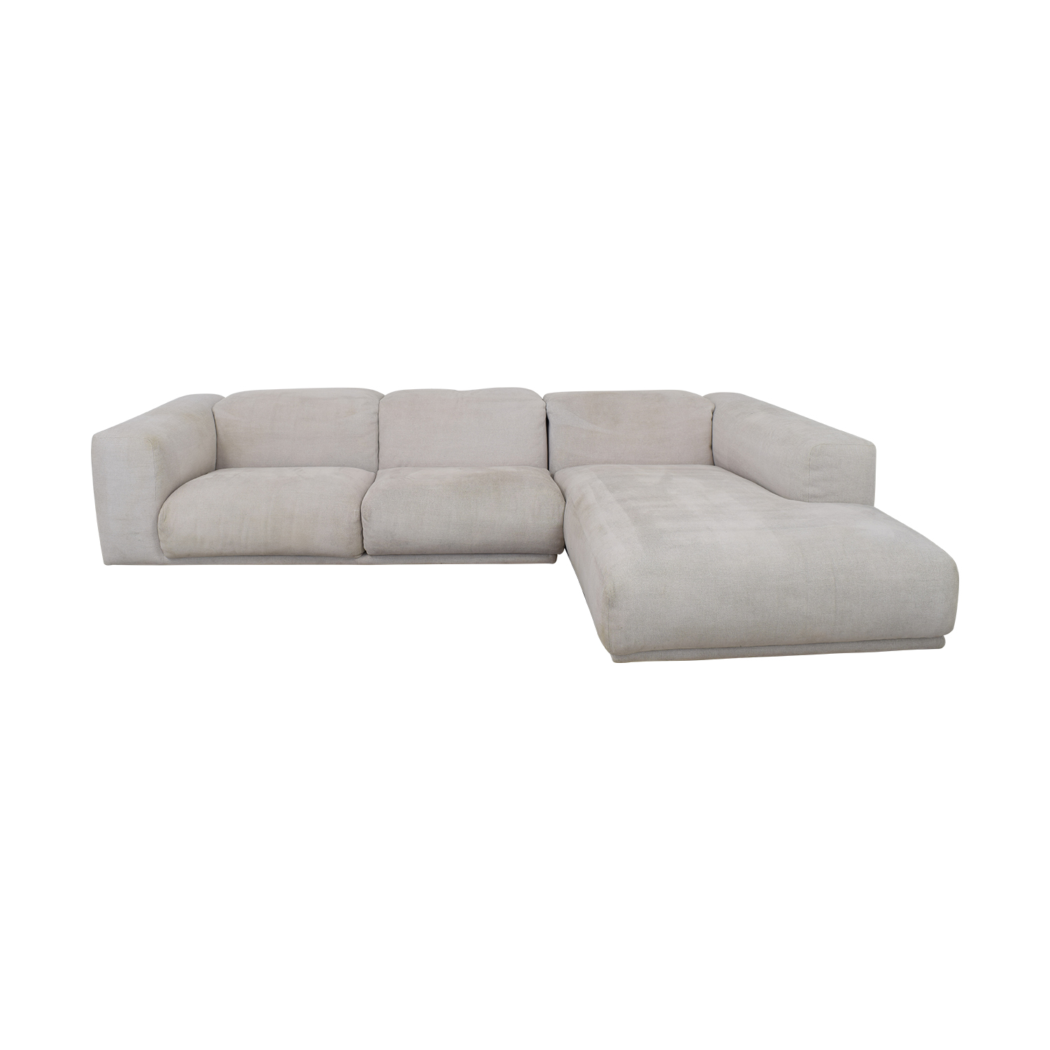 Design Within Reach Design Within Reach Kelston Sectional with Chaise for sale