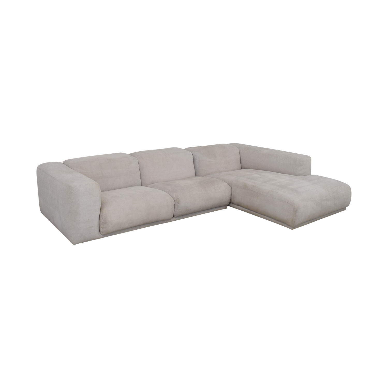 Design Within Reach Design Within Reach Kelston Sectional with Chaise second hand